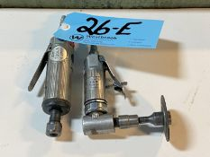"""Lot-(1) Ingersoll-Rand Model 301, 1/4"""" x 22,000 rpm Pneumatic Angle Die Grinder"""