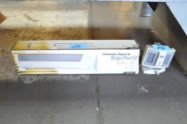 Lot-(2) Portable Electric Heaters Under (1) Bench