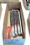 Lot-Hacksaw Blades in (1) Box