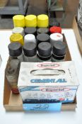 Lot-Various Spray Paints and Rapid Set in (1) Box