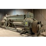 JC STEEL ADC75 EXTRUDER, 59 US TONS PER HOUR CAPACITY, W/MOTORS AND CONTROL PANELS