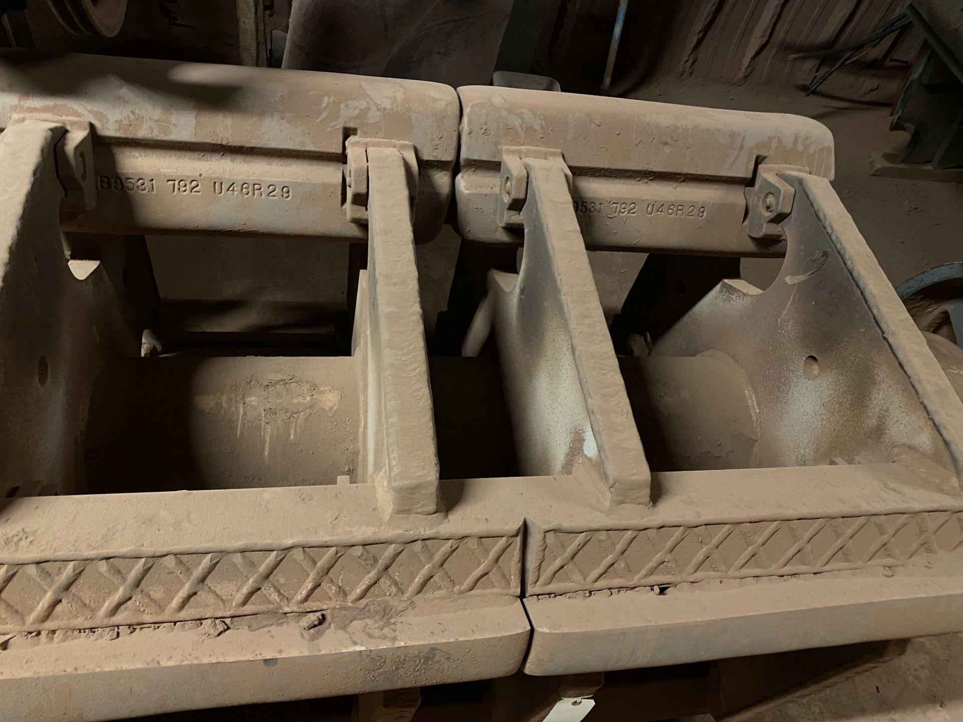 HAZEMAG IMPACT CRUSHER, MODEL 1315, 60'' DIAMETER ROTOR, 60'' WIDE, 575V, 450 HP - Image 9 of 25