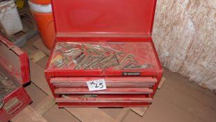 HUSKY 4 DRAWER MECHANICS TOOL BOX