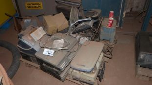 (1) SKID MISC. PRINTERS AND SCANNERS