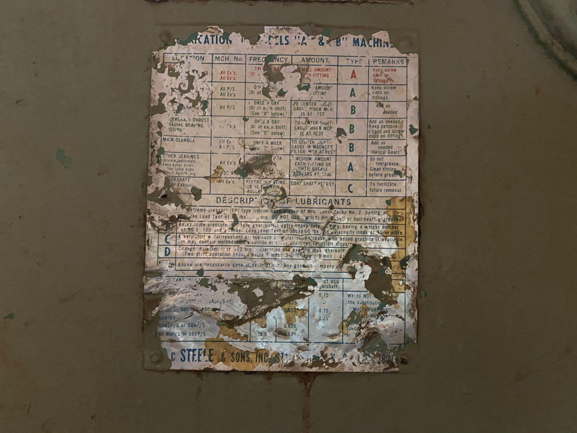 HAZEMAG IMPACT CRUSHER, MODEL 1315, 60'' DIAMETER ROTOR, 60'' WIDE, 575V, 450 HP - Image 13 of 25