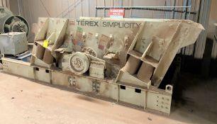 TEREX SIMPLICITY VIBRATORY, DOUBLE DECK, 6' X 12' SCREENER, W/ 20 KVA SCREEN HEATING TRANSFORMER,