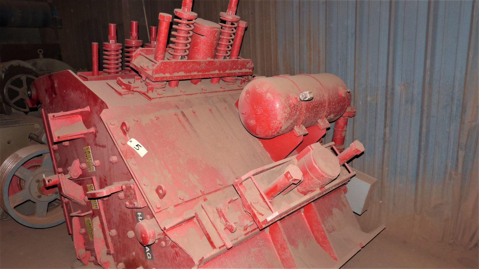 HAZEMAG IMPACT CRUSHER, MODEL 1315, 60'' DIAMETER ROTOR, 60'' WIDE, 575V, 450 HP - Image 20 of 25
