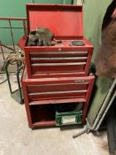WATERLOO TOOL CHEST UPPER & LOWER, W/ RELATED CONTENTS