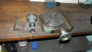 LIANG TU 10'' ROTARY TABLE, MODEL LM-10 AND MAG LOCK