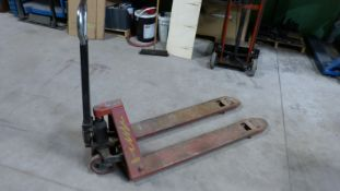 MANUAL PALLET TRUCK (RED) 5,500 LBS CAPACITY
