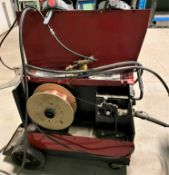 LINCOLN WIRE MATIC 225 AMP MIG WELDER (TANK NOT INCLUDED)
