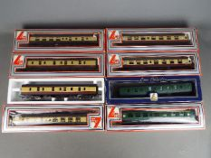 Lima - Eight boxed OO gauge passenger coaches by Lima.
