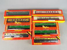 Hornby - Nine boxed OO gauge passenger coaches by Hornby.