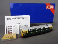 Heljan - A boxed OO gauge Heljan #3310 Class 33 Diesel locomotive Op.No.