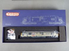 Vi Trains - A boxed OO gauge Vi Trains V0001L Class 37 Chassis with a Class 37 body fitted in