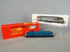 Hornby - Two boxed Hornby OO gauge Class 37 Diesel locomotives.