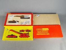Hornby - Two boxed OO gauge 'Breakdown Cranes'.