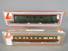 Lima - Two boxed OO gauge locomotives by Lima.