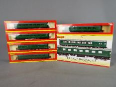 Hornby - Six boxed OO gauge passenger coaches by Hornby.