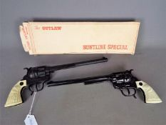 BCM (Derby), Cap Guns - A boxed BCM (Derby) 'The 'Outlaw' Buntline Special Revolver,