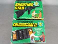 Videomaster - a Videomaster Shooting Star, home TV rifle game and a Videomaster Colourscore II,