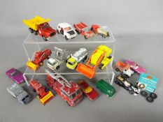 Corgi - Matchbox by Lesney - a mixed lots of diecast model motor vehicles to include Matchbox by