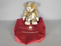 Charlie Bears - a limited edition Charlie Bear entitled Abhay CB114971 with jointed arms and legs,