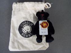 Charlie Bears - a limited edition Charlie Bear entitled Pumps CBK635299A with necklace, tags,