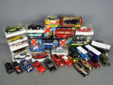 Solido, Matchbox, Corgi, Others - A collection of approximately 30 mainly boxed diecast vehicles.