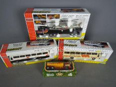 Joal - Four boxed diecast model vehicles in various scales by Joal.