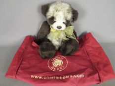 Charlie Bears - a Charlie Bear entitled Dexter CB183923 with jointed arms and legs,