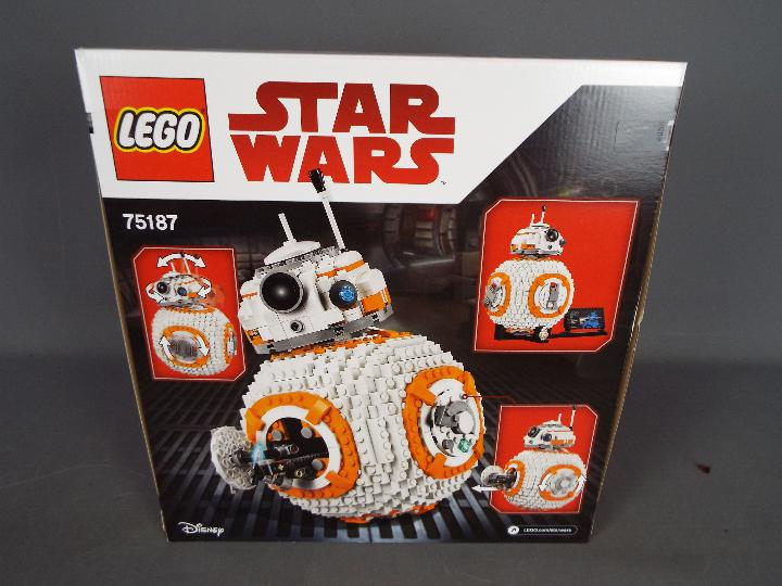 Lego, Star Wars - A boxed Lego #75187 BB-8. - Image 2 of 2