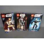 Lego, Star Wars - Three boxed Lego Star Wars sets.