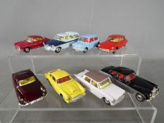 Corgi Toys - A collection of 8 unboxed diecast Corgi Toys.