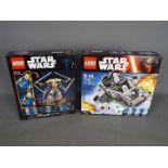 Lego, Star Wars - Two boxed Lego Star Wars sets.