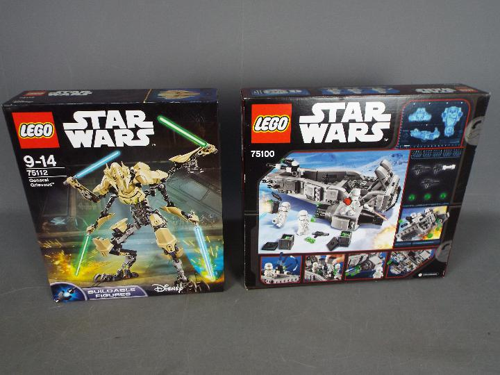 Lego, Star Wars - Two boxed Lego Star Wars sets. - Image 2 of 2