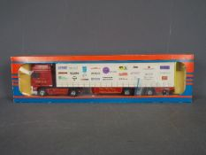 Tekno - A boxed Tekno #78 diecast 1:50 scale DAF Curtainside from 'The British Collection'.