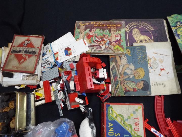 Chad Valley, Waddingtons, Lego, Others - A collection of vintage children's toys, books, and games. - Image 3 of 5