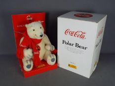 Steiff - A boxed Steiff Limited Edition Coca Cola Polar Bear.