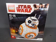 Lego, Star Wars - A boxed Lego #75187 BB-8.