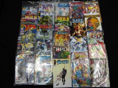 Marvel, DC, Dark Horse, Image - A collection of 25 modern age comics,