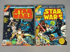 Star Wars, Marvel - Two Marvel 'Star Wars' Comics.