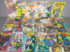 Marvel - A collection of 25 Marvel modern age comics most of which are contained within in clear