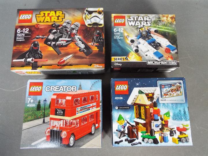 Lego - Four boxed Lego sets. - Image 2 of 2