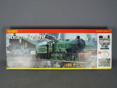 Hornby - A boxed incomplete Hornby R1018 Steam Freight Electric Train Set.