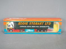 Tekno - A boxed Tekno diecast 1:50 scale #69 Volvo FH12 'Eddie Stobart' from 'The British