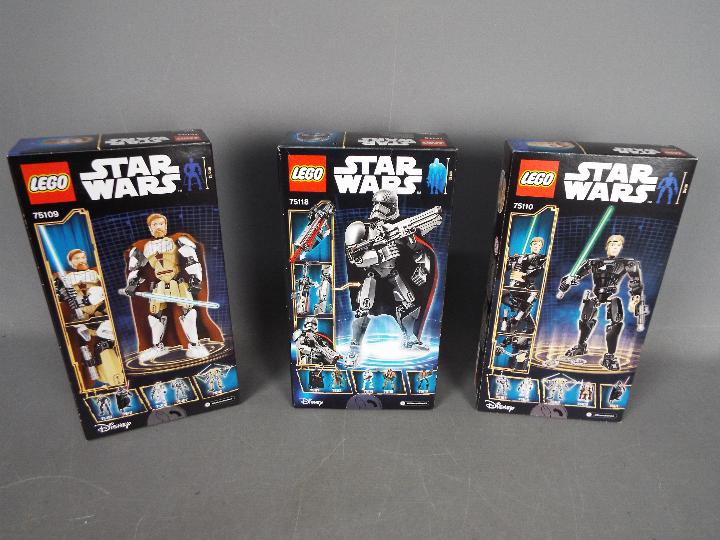 Lego, Star Wars - Three boxed Lego Star Wars sets. - Image 2 of 2