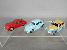 Dinky Toys - Three unboxed Dinky Toys.
