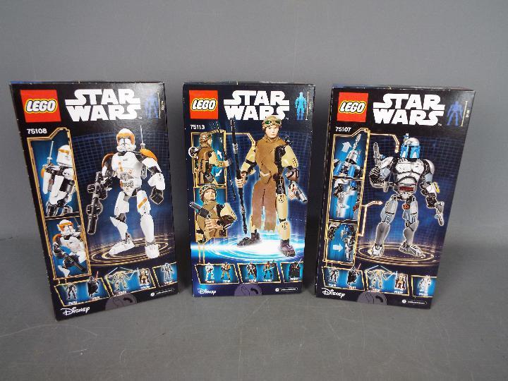 Lego, Star Wars - Three boxed Lego Star Wars sets. - Image 2 of 2