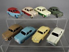 Dinky Toys - A collection of 8 unboxed diecast Dinky Toys.